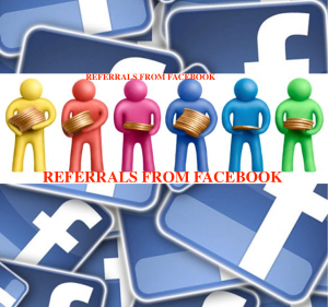 referrals from facebook
